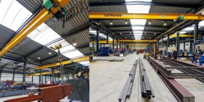 Des ponts roulants Verlinde équipent tous les ateliers de Belgium Metal