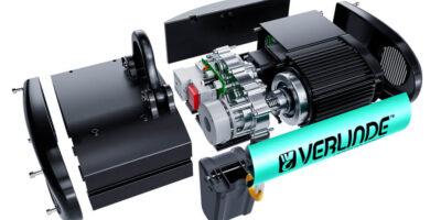VERLINDE présente une nouvelle gamme de palan électrique à chaîne haute technicité : l'EUROCHAIN VX